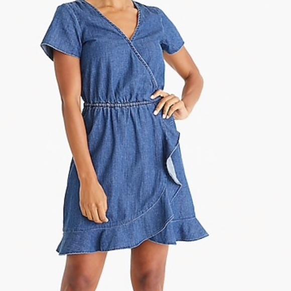 J Crew Mercantile Plus size Chambray Dress NWT